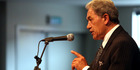 New Zealand First Leader Winston Peters. Photo / Stuart Munro.