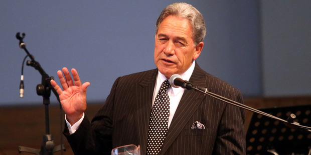 "Winston Peters said a Brexit was ""our best chance to reverse the steady loss of access rights Kiwis have in the UK"". Photo / Stuart Munro"