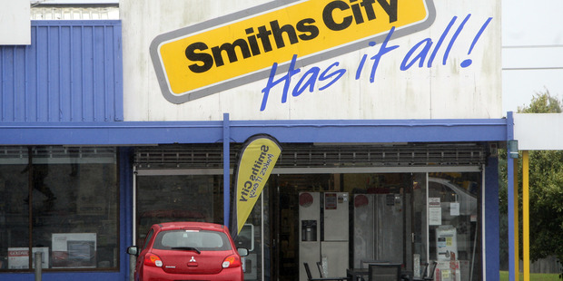 Smiths City repaid $10.1 million in bank debt in the year, leaving it with none. Photo / Ben Fraser