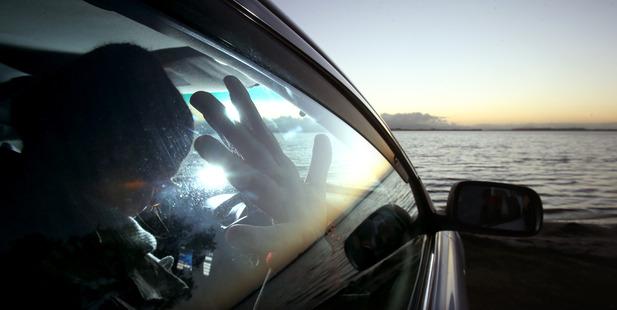 Women around the city are sleeping in cars with their children. Photo/John Borren