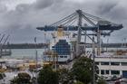 Ports of Auckland has been fined $49,980 and will pay $12,000 in reparations after a stevedore was badly injured while working aboard a container ship. Photo / Nick Reed