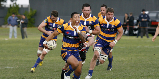 Bay of Plenty halfback Te Aihe Toma will play for the Highlanders against the Crusaders tonight. Photo/File