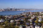 Former Reserve Bank chairman Arthur Grimes says the answer to Auckland's housing crisis is to build up and