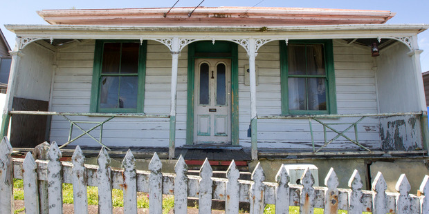 The Grey Lynn property in 2014 before it was renovated / Jason Oxenham