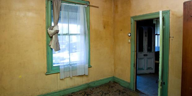 The house had nicotene-stained walls. Photo / Jason Oxenham