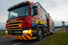 Four fire crews were called to the scene of the blaze. Photo / File