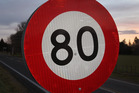 80km/h limit to be cut