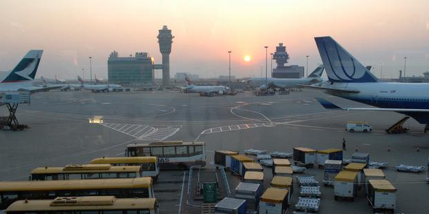 Hong Kong International Airport. Photo / NZME.