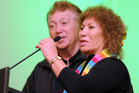 Billy and Mahora Peters, two of the original members of the Maori Volcanics Showband.