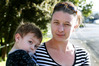 WAITING: Kristie Lowe, single mother of 2-year-old Riley Ferguson, has struggled to find a rental because of high demand for rentals and an increase in rent prices. PHOTO/JOHN STONE