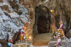 The Huyen Khong Cave with shrines on top of Marble Mountains. Photo / Getty Images