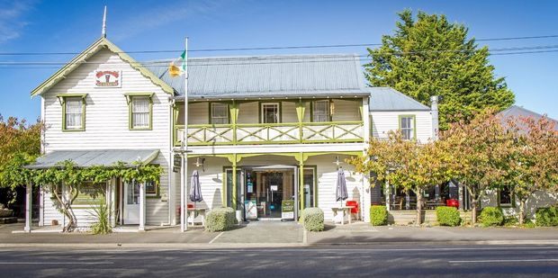 Trust House is selling the Greytown 'Top Pub' building. PHOTO/SUPPLIED