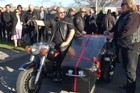 Devoted Harley-Davidson fan Gary McPhee saved the best to last -- taking his final ride yesterday as guest of honour at the head of hundreds of roaring motorcycles of all colours and all makes and models.