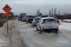 Watch: Flooding in Pukehina, Bay of Plenty