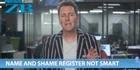 Mike's Minute: Name and shame register not smart