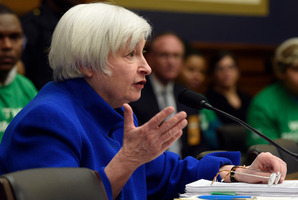 Federal Reserve chair Janet Yellen. The biggest banks in the US are all holding more capital than at any time since 2008. Photo / AP