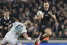 The All Blacks won't clash with England until late next year at the earliest. Photo / Greg Bowker