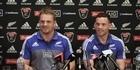 Watch: All Blacks Sam Cane and Ryan Crotty