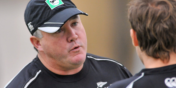 Former New Zealand coach Andy Moles.