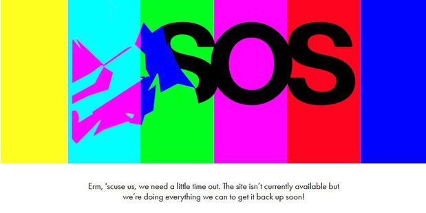 Loading The website has been down for more than a day, coinciding with Britain's decision to leave the European Union. Photo / Asos