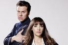 Rashida Jones and Hayes MacArthur keep the silliness cranked to maximum in Angie Tribeca. Photo / Supplied