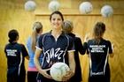 Dana Cook reads her teammates like a book on the netball court. Photo / Warren Buckland