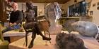 ARTIST: George Andrews has kept a low profile despite his huge talent. PHOTO/BEN FRASER