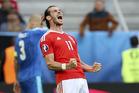 Gareth Bale of Wales. Photo / AP