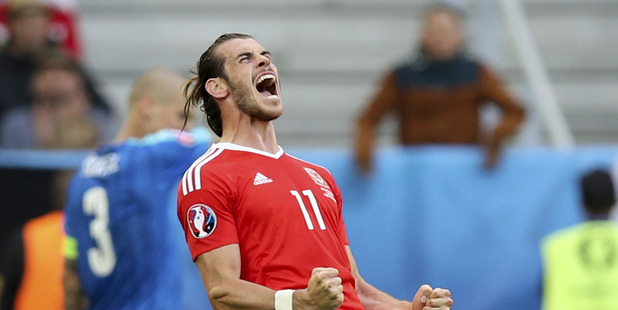 Gareth Bale of Wales. Photo / AP