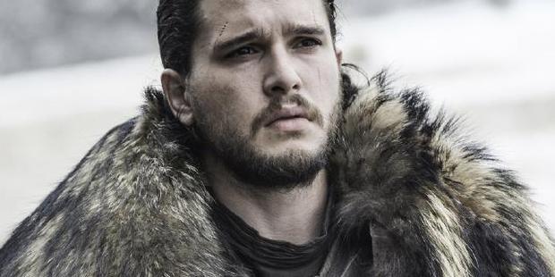 Jon Snow played by Kit Harington. Photo / HBO