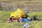 ILLEGAL: Rubbish dumped at South Beach.PHOTO/FILE