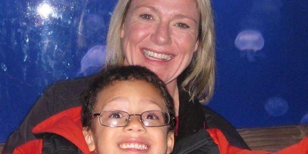 Caroline Steinbrecher's son Jake, 8, was prescribed Clonidine, which is used to treat high blood pressure and ADHD symptoms. Photo: Caroline Steinbrecher / Facebook