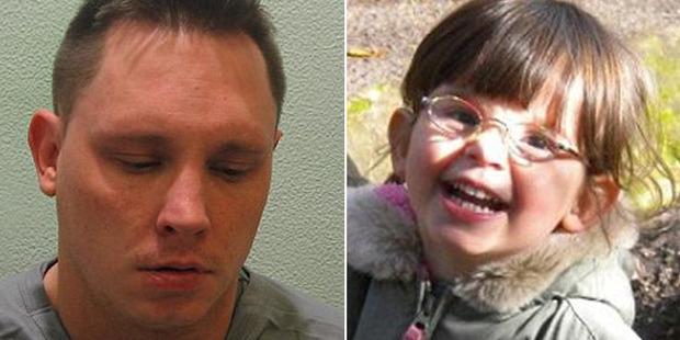 Loading Ben Butler has been jailed for 23 years for killing his daughter Ellie, six. Photo / Police
