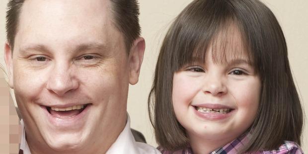 Ben Butler and his daughter Ellie.