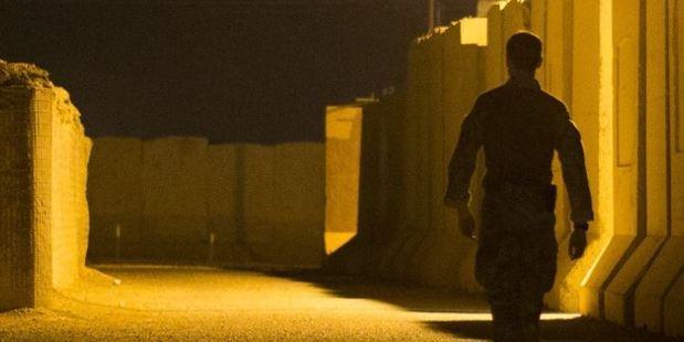 A soldier at Camp Taji. Photo / Supplied