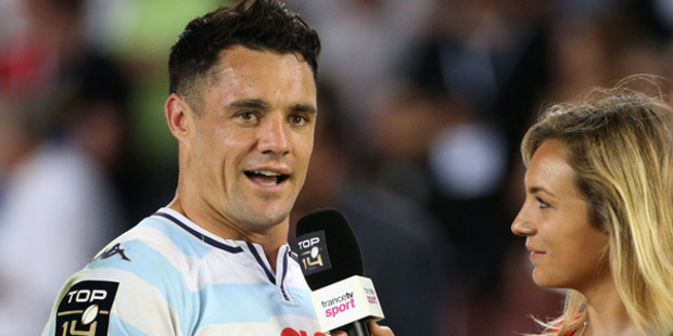Loading Dan Carter has won yet another trophy in his glittering rugby career. Photo / Getty Images