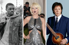 Vince Staples, Taylor Swift and Paul McCartney are just three of 180 artists to sign the petition. Photos / Getty Images, supplied