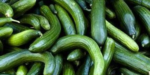 A 1994 EU regulation specified that cucumbers needed to be straight. Photo / AP