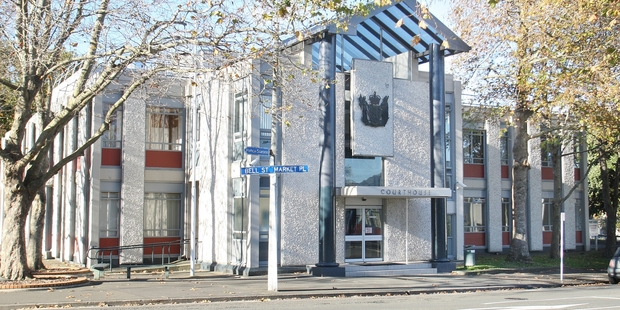 BREAK-OUT: The Whanganui courthouse.