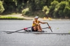 WORLD CLASS: Tauranga rower Zoe Stevenson training at Lake Karapiro earlier this year. PHOTO/FILE