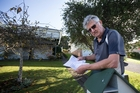 Kevin Rowntree, 76, received a letter from Auckland Transport on Last Friday. Photo / Nick Reed