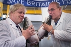 Boris Johnson (left) could well be a likely prime minister if the 'Leavers' prevail. Photo / AP