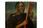 This portrait of Ngapuhi chief Tamati Waka Nene is still on the Fine Arts America website giving customers the option of buying it on shower curtains, duvet covers and pillows.