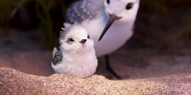 Loading A scene from Pixar's animated short 'Piper'. Photo / Disney-Pixar