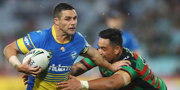 Michael Gordon has been a rock for the Eels this season. Photo / Getty Images
