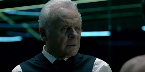 This is Anthony Hopkins' first role as a television series-regular.