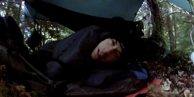 When necessary they were prepared to camp out in the wild and came well prepared to take on the elements. Photo / YouTube