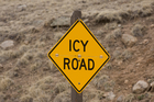 Motorists are being urged to drive to the conditions due to the wet and icy winter roads. Photo / iStock