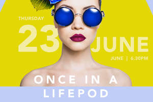 Medicine Mondiale's Once in a LifePod event will be held at EY on June 23