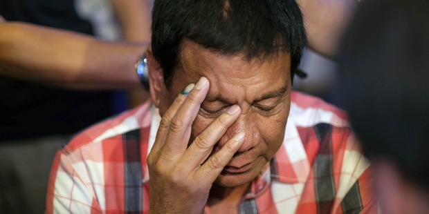 Philippines President-elect Rodrigo Duterte. Photo / Bloomberg